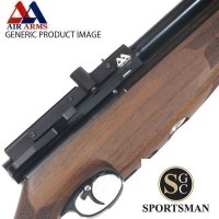 Air Arms S510 Carbine Walnut Side Lever