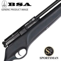 BSA Ultra Single Shot Black Tactical