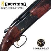 Browning B725 Sporter Black Edition Left Hand Inv Ds 12G