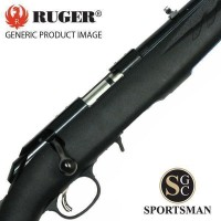 Ruger M77 American Rimfire Threaded