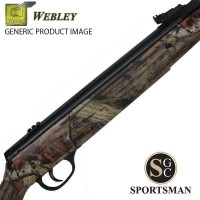 Webley Value Max Camo Stock
