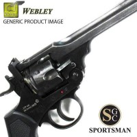 Webley 455 Service Revolver MKV1 Silver