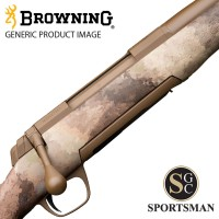 Browning X-Bolt SF Long Range Mcmillian Fluted Threaded