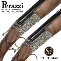 Perazzi MX12 SC3 100 Gold Pair Game Auto Safe