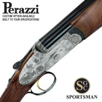 Perazzi MX12 SCO Sideplates Auto Safe Game scene 12G