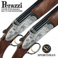 Perazzi MX12 SCO Sideplates Pair Auto Safe Game scene 12G
