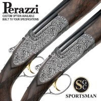 Perazzi MX12 SCO Sideplates Pair Auto Safe Scroll 12G