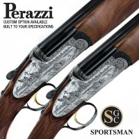 Perazzi MX20 SCO Sideplates Pair Auto Safe Game Scene 20G