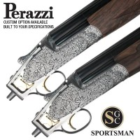 Perazzi MX12 SCO Sideplates Pair Auto Safe Scroll Non-Headed 12G