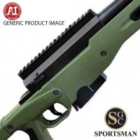 Accuracy International AT Green Std Muzzle Brake Left Hand