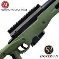 Accuracy International AT Green Std Tac M/ Brake Left Hand