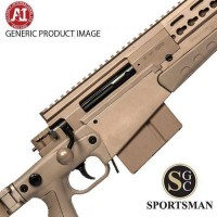 Accuracy International AXMC Pale Brown Std Muzzle Brake .308 Win