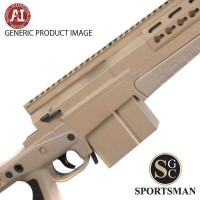 Accuracy International AXMC Elite Sand Tac M/Brake 20 Inch LH