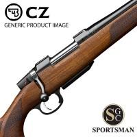 CZ 557 Lux Short Action Detach Mag 21 Inch Threaded
