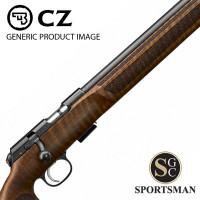 CZ 457 MTR Threaded Rifle