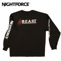 Nightforce Long Sleeve BEAST T Shirt Black