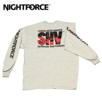 Nightforce Long Sleeve SHV T Shirt