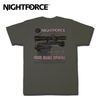 Nightforce T-Shirt-AR Themed