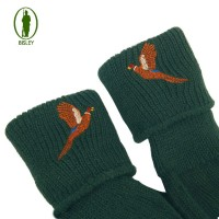 Bisley Pheasant Embroidered Socks