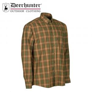 Deerhunter Mitchell L/S Shirt Red Check
