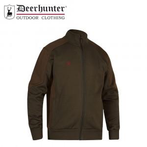 Deerhunter Rogaland Sweat W. Rib Neck Adventure Green