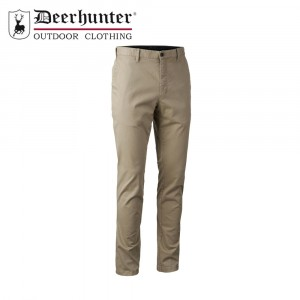 Deerhunter Casual Trousers Dark Sand