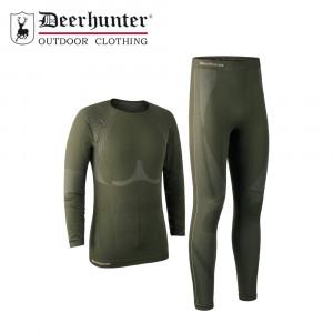 Deerhunter Mens Performance Underwear Set Forest Night