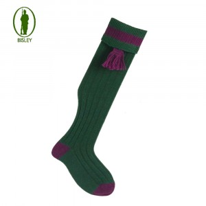 Bisley No.11 Socks Bottle/vine