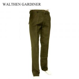 Wathen Gardiner Moleskin Trousers Olive