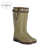 Le Chameau Vierzon 50 Neoprene Lined Wellingont Boots - Vert Vierzon (Mens)