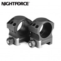 Nightforce Ring Set 1.375 X High 30mm Ultralite 6 Screw