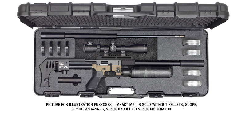 Impact MKII Air Rifle - Picture for Illustration Purposes.
